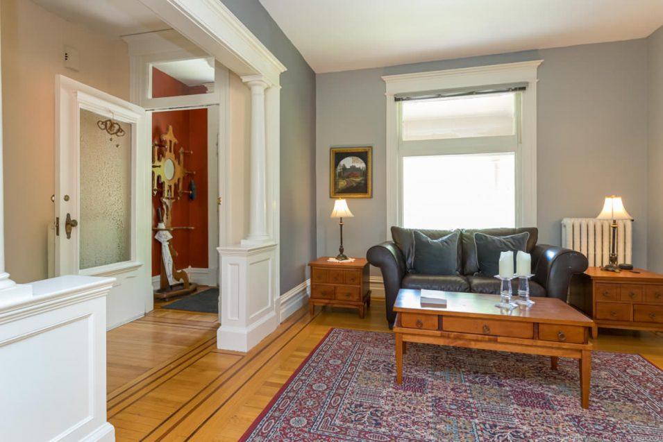 Hardwood floors in 164 Duke Street, Hamilton