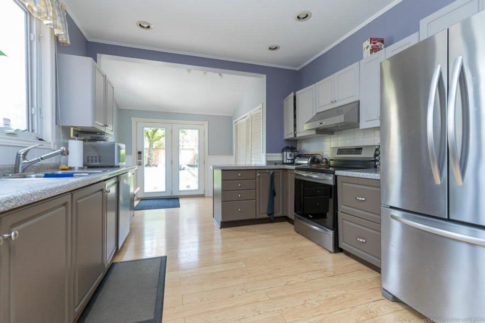 Kitchen at 164 Duke Street, Hamilton