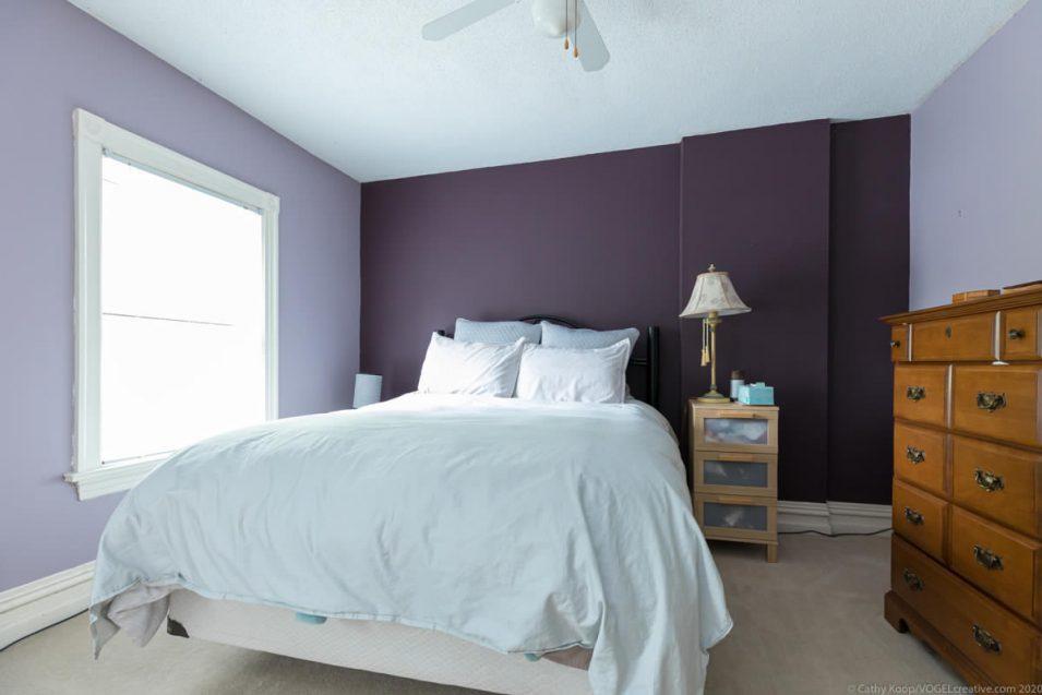 Guest bedroom at 164 Duke Street, Hamilton
