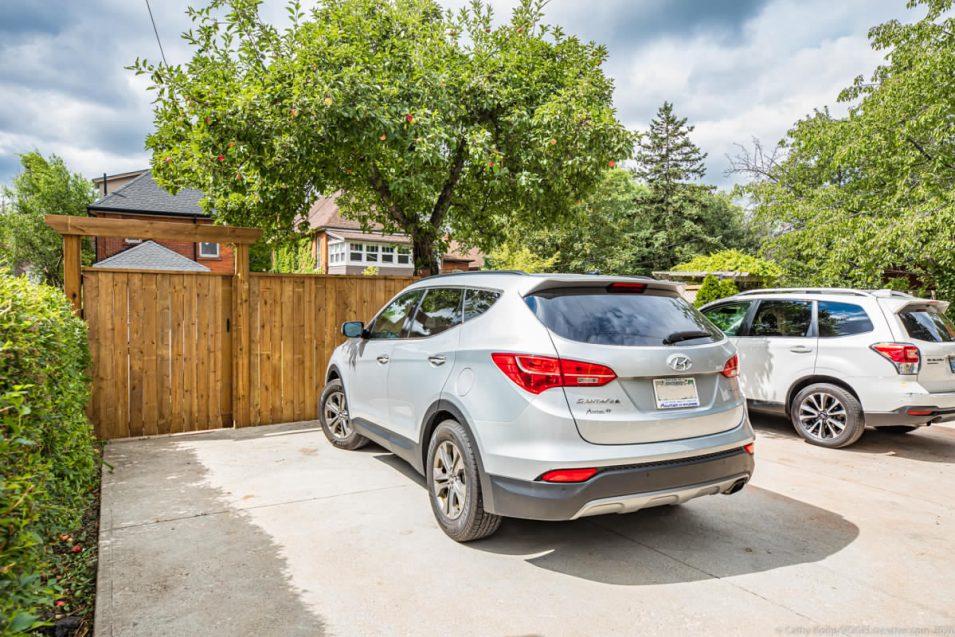 Parking at 164 Duke Street, Hamilton